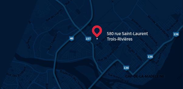Aqua Pro Trois-Rivières - Lave-auto à la main - Carte